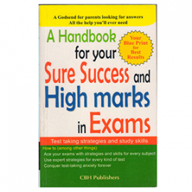 buy now A-Handbook-for-your-sure-success-and-high-marks-in-exams book from edmediastore