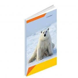 Premium Long Notebook Hard Cover 6