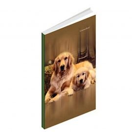 Premium Long Notebook Hard Cover 7