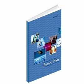 Buy now Record Notebook Hardcover-2