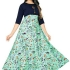 Authentic American Crepe Printed Gown Glomikart 007