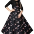 Authentic American Crepe Printed Gown Glomikart 008
