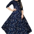 Authentic American Crepe Printed Gown Glomikart 009