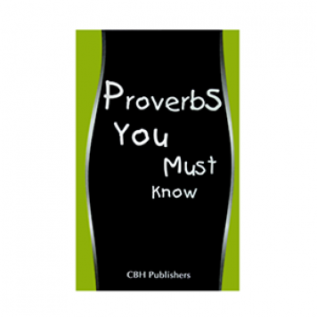 Learn proversb from the book Proverbs-you-must-know-book at edmediastore